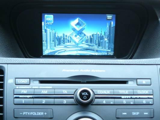 Мультимедийный центр с GPS-навигацией для Honda Accord NEW