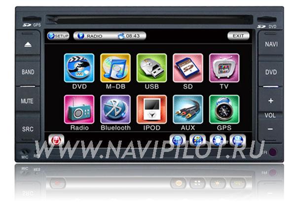 NaviPilot Nissan Qashqai, X-Trail, Tiida, Bluebird, Cefiro, Paladin, Geniss