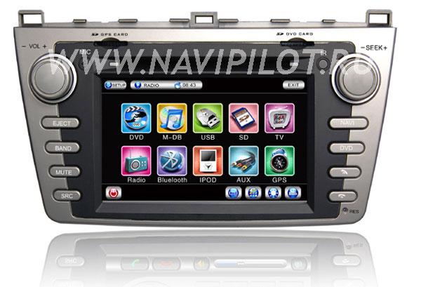 NaviPilot Mazda 6 new